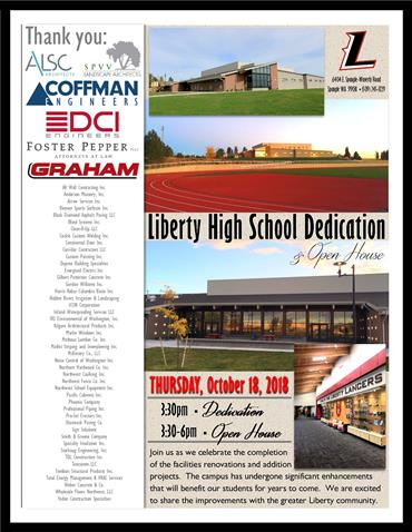 LHS Dedication and Open House