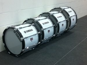 Bass Drums purchased through the Gertie Wolf Grant